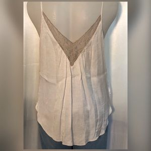 American Eagle Outfitters Tops - American Eagle lacy/satin tank
